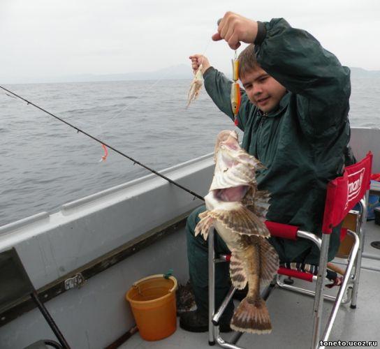ловля удочками морской рыбы