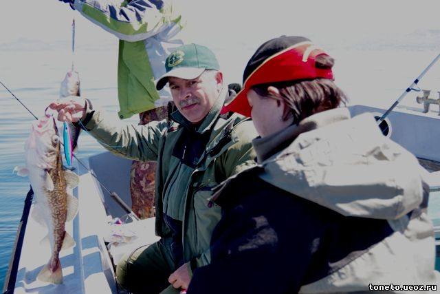 рыбалка татарский пролив